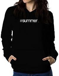 Hashtag Summer 女性 フーディー