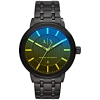 Armani Exchange Black Stainless Steel Watch