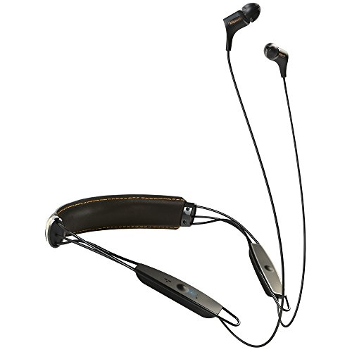 Klipsch 革製ネックバンド型Bluetooth イヤホン R6 Bluetooth Neckband Black KLNBR60111