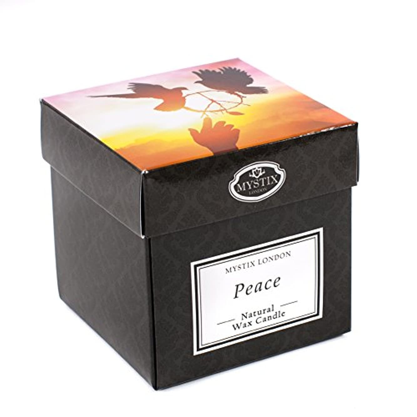 ゾーンオレンジ発信Mystix London | Peace Scented Candle - Large