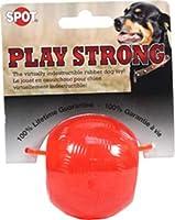 Ethicalペット再生Strong半永久的ゴムボール犬おもちゃ 2.5-Inch 603010