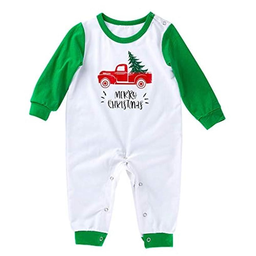 ロバ詐欺師何でもDaigou 0-18ヶ月ベビーロンパース、幼児ベビーガールズボーイズクリスマスプリントジャンプスーツロンパースカジュアル 秋冬メリークリスマスロングスリーブロンパース
