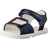 Tommy Hilfiger Glitter Velcro Sandal Girls