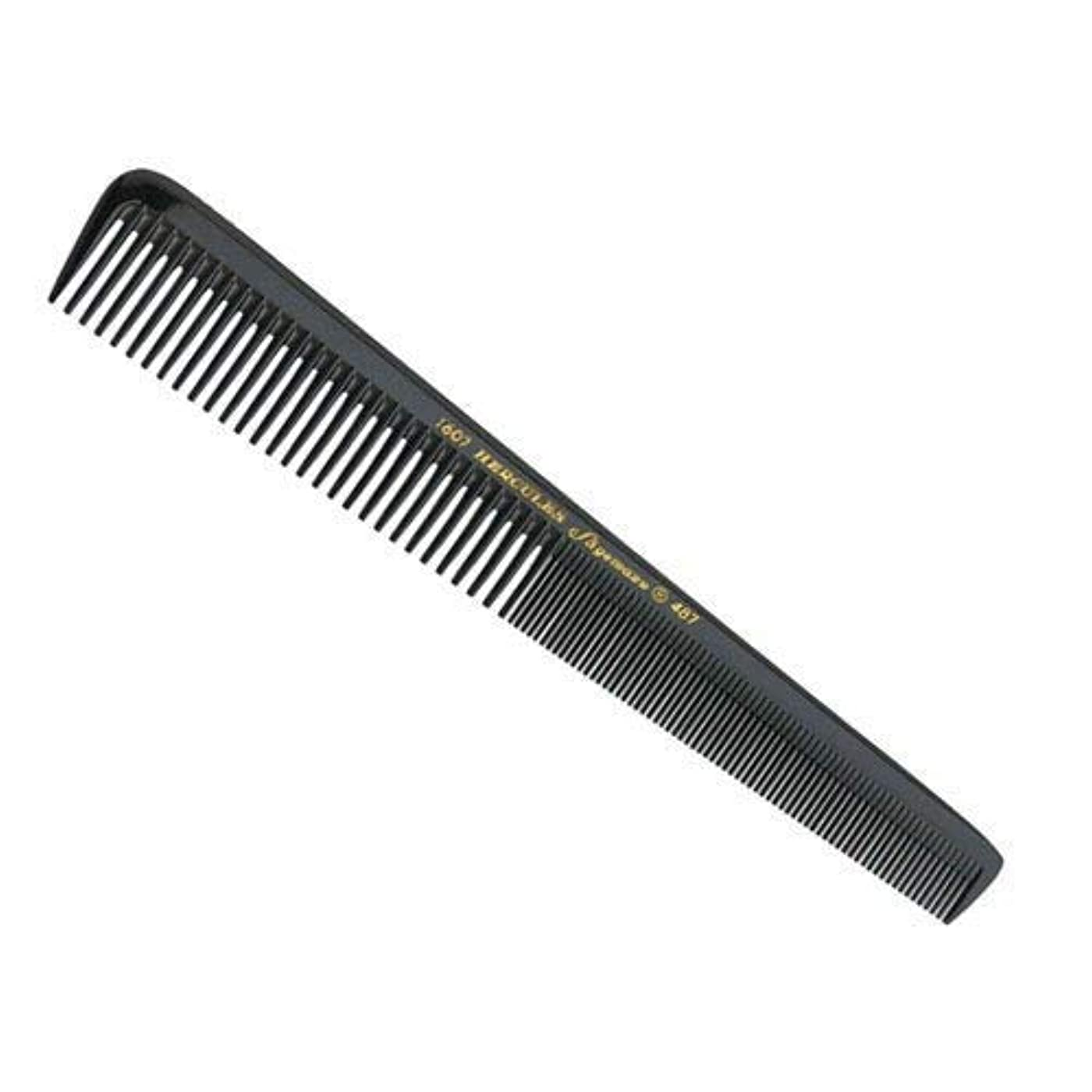 接触ぺディカブストラトフォードオンエイボンHercules S?gemann Tapered Barber Comb for 3 mm cut with wide and extra fine teeth 7 1/2