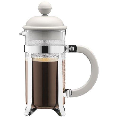 BODUM ボダム CAFFETTIERA フレンチプレスコーヒーメーカー 0.35L オフホワイト 1913-913