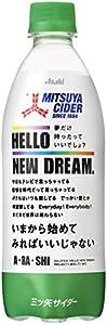 アサヒ飲料 三ツ矢サイダー Hello New Dream. 特別限定パッケージ 11月品 500ml ×24本