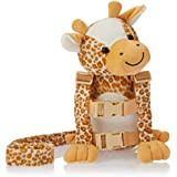 Playette 2 in 1 Harness Buddy Giraffe, Multi