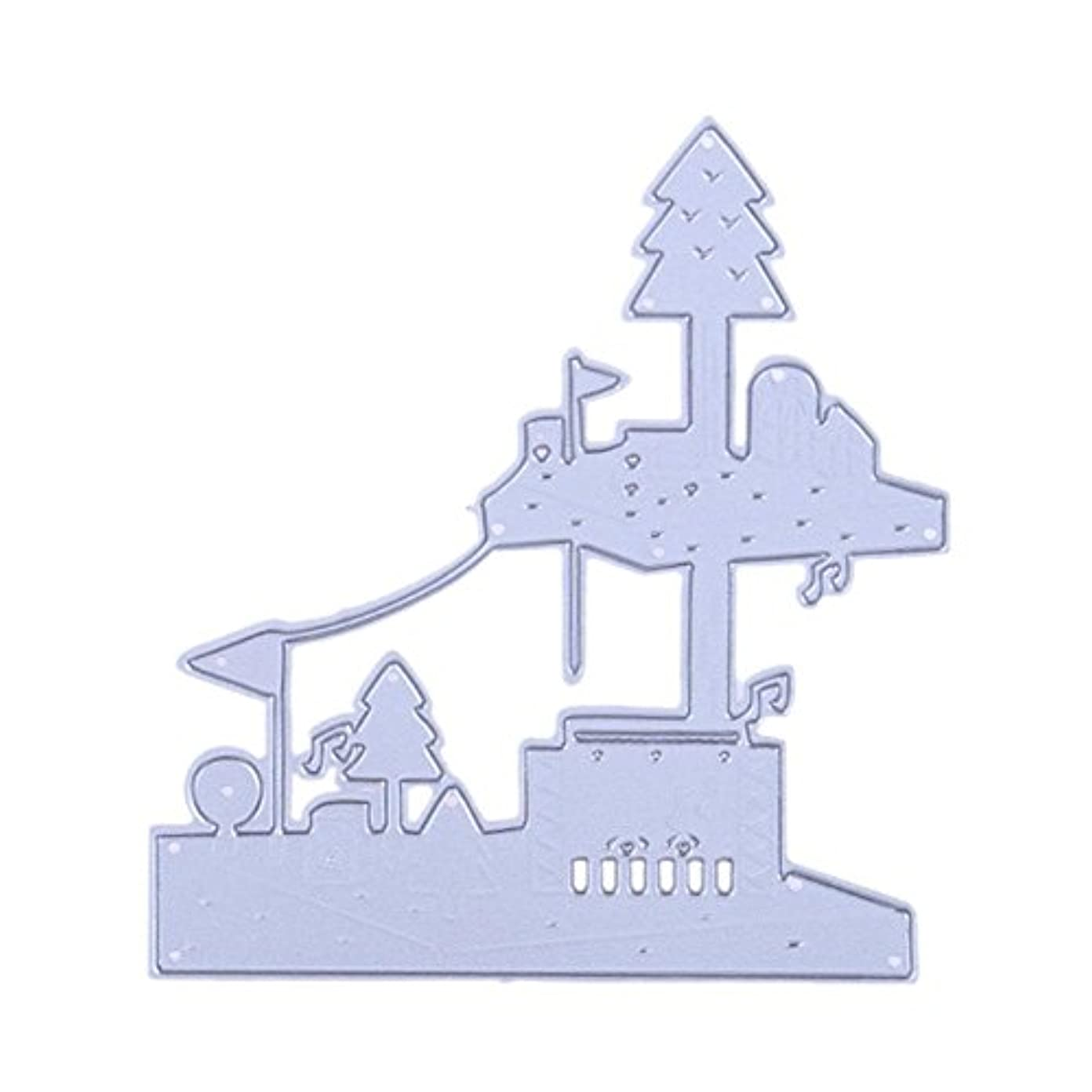 ドアミラーひいきにするパッケージダイカットテンプレート 描画テンプレート エンボスステンシル カッティング 炭素鋼製 DIY 切削 手作り スクラップブッキング ペーパー アート ノート 手帳用 93.00 * 85.00 * 10.00mm Macrorunjp