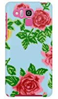 SECOND SKIN SINDEE 「Splashed Rose (ブルー)」 / for DIGNO R 202K/SoftBank SKY202-ABWH-193-K624