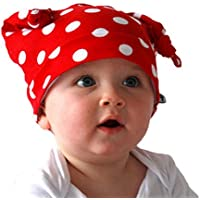 Goenn かわいい新生児の女の子のボーイホーンキャップコットンハットキャップビーニー写真プロップ