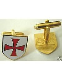 Crusaders Teutonic Knights Order Germanクロスカフリンク