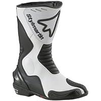 Stylmartin(スティルマーチン): RACING シリーズ ブーツ DIABLO ホワイト   サイズ: 47 (国内 30cm)  レーシング sty-diablo-w-47