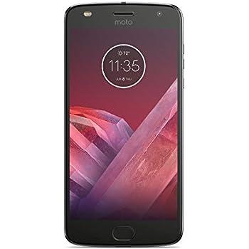 モトローラ SIM フリー スマートフォン Moto Z2 Play 4GB ルナグレー 国内正規代理店品 AP3835AC3J4/A