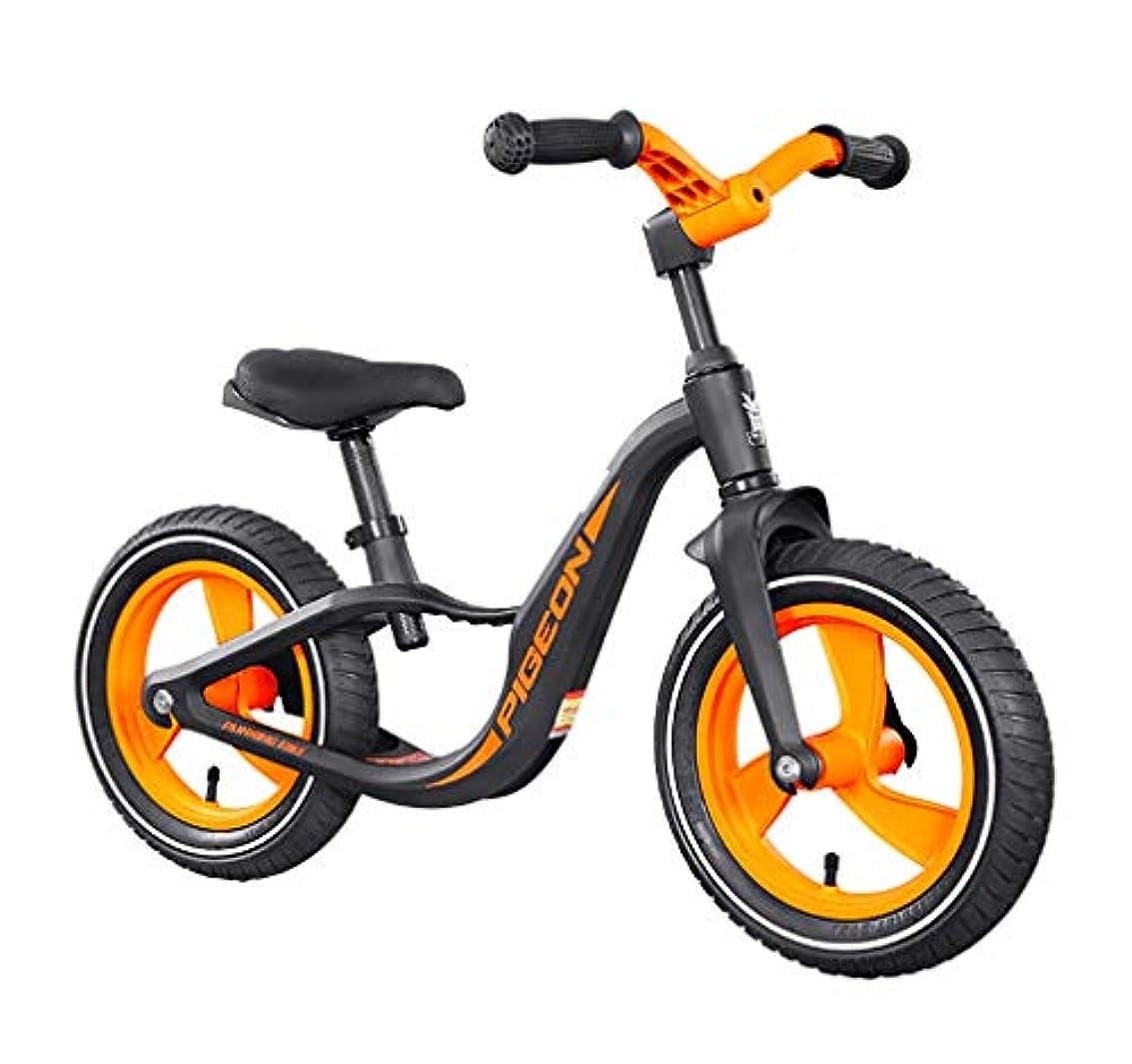 塩所得パーフェルビッド兒童平衡自行車12英寸鋁合金車架無踏板可調節座椅幼兒自行車2-6歲幼兒男孩女孩[易組裝]訓練自行車兒童最佳禮物