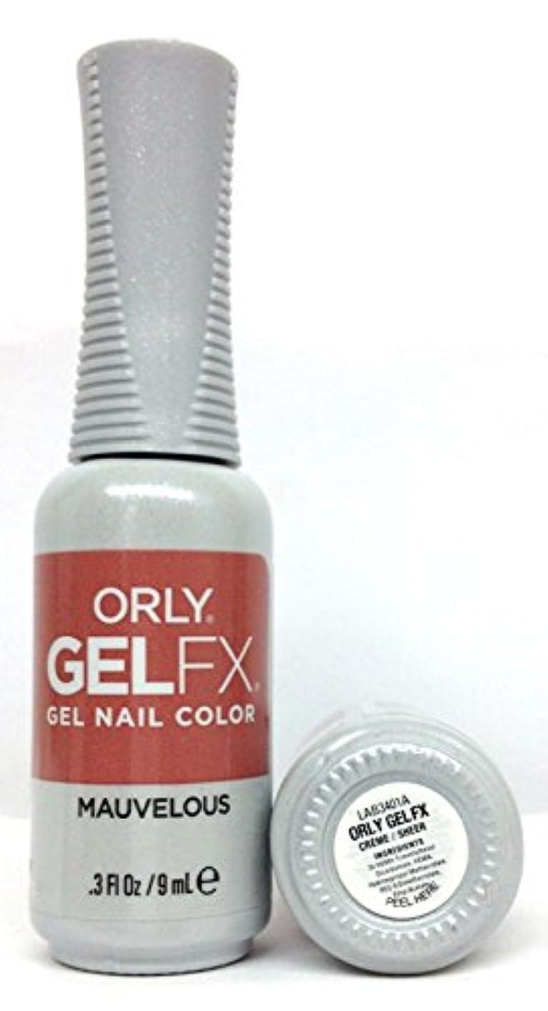 ペレグリネーション荒廃する高価なORLY GelFX - The New Neutral Collection - Mauvelous - 9 ml / 0.3 oz
