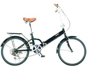 トップワン 20インチ折り畳み自転車(6段変速) ダークグリーン 20インチ FL20DG