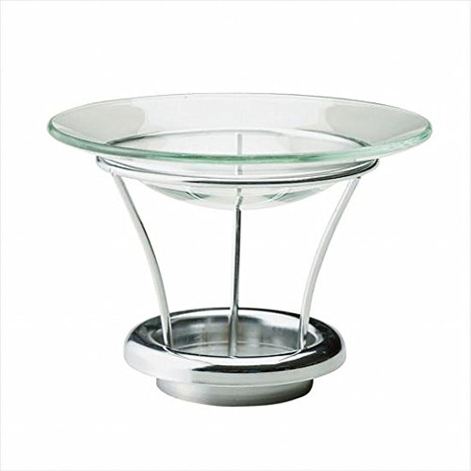 メリー傾向があります優越カメヤマキャンドル( kameyama candle ) シルエットグラス用アロマウォーマーキット キャンドル