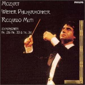 モーツァルト:交響曲第29番、第33番、第34番