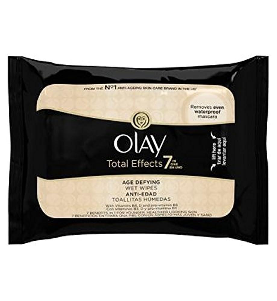 選択セントパスオーレイトータルエフェクト?7In1のウェットティッシュの20代の年齢に挑みます (Olay) (x2) - Olay Total Effects 7in1 Age-Defying Wet Wipes 20s (Pack...