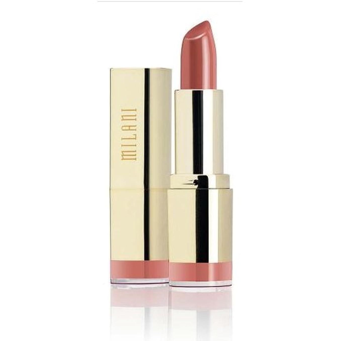 サッカー師匠昆虫(3 Pack) MILANI Color Statement Lipstick - Naturally Chic (並行輸入品)