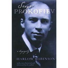 英書 ハーロウ・ロビンソン『伝記 セルゲイ・プロコフィエフ』の商品写真
