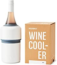 Huski Wine Cooler | Premium Iceless Wine Chiller | Keeps Wine or Champagne Bottle Cold up to 6 Hours | Award W