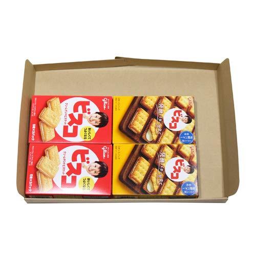 グリコ ビスコ 15枚(2コ)& ビスコ〈発酵バター仕立て〉15枚(2コ)セット