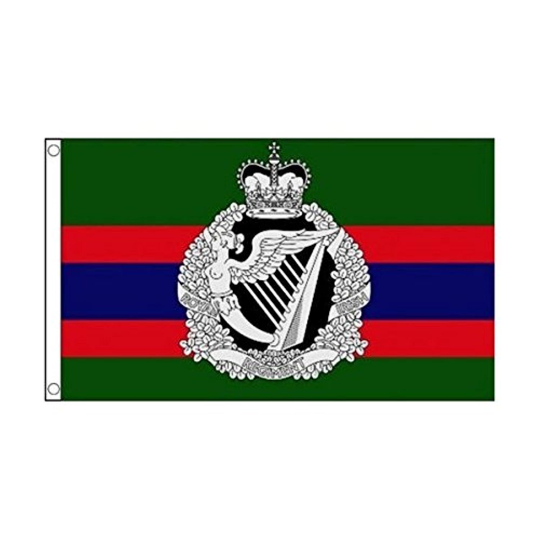 ロイヤルアイリッシュ 連隊 イギリス 英国 陸軍 90cmx150cm 特大フラッグ【ノーブランド品】