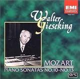 モーツァルト:ピアノ・ソナタ集 第10番~第13番