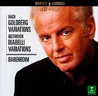 バッハ:ゴールドベルク変奏曲/ベートーヴェン:ディアベッリ変奏曲