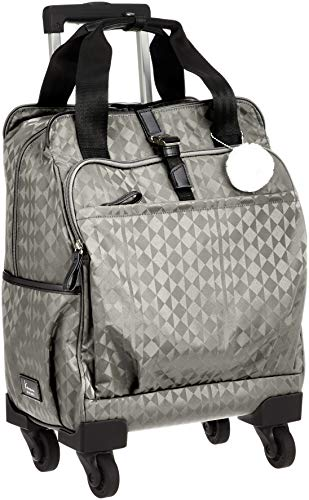 [カナナプロジェクト] スーツケース カナナモノグラムトロリー サイレントキャスター 機内持込可 15L 37cm 2.0kg 59139 09 グレー