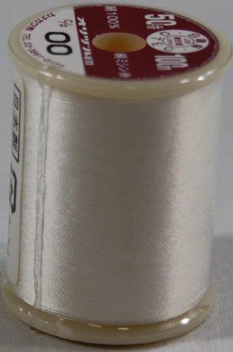 オリヅル絹ミシン糸  50番 100m  00 生成り
