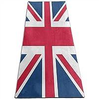 ヨガマットイギリス国旗ユニオンジャックスポーツ、トレーニング、ピラティスコースヨガマット 10mm 多機能高級スポーツ用ヨガマット