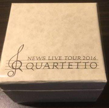 NEWS LIVE TOUR 2016 QUARTETTO 公式グッズ オルゴール