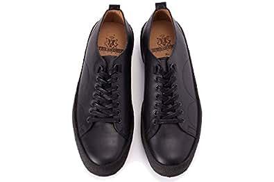 (フレッドペリー)FRED PERRY B8279 George Cox Tennis Shoe Leather 革靴 28.0cm(US10) 102
