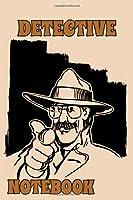 Detective Notebook - Light Orange - College Ruled