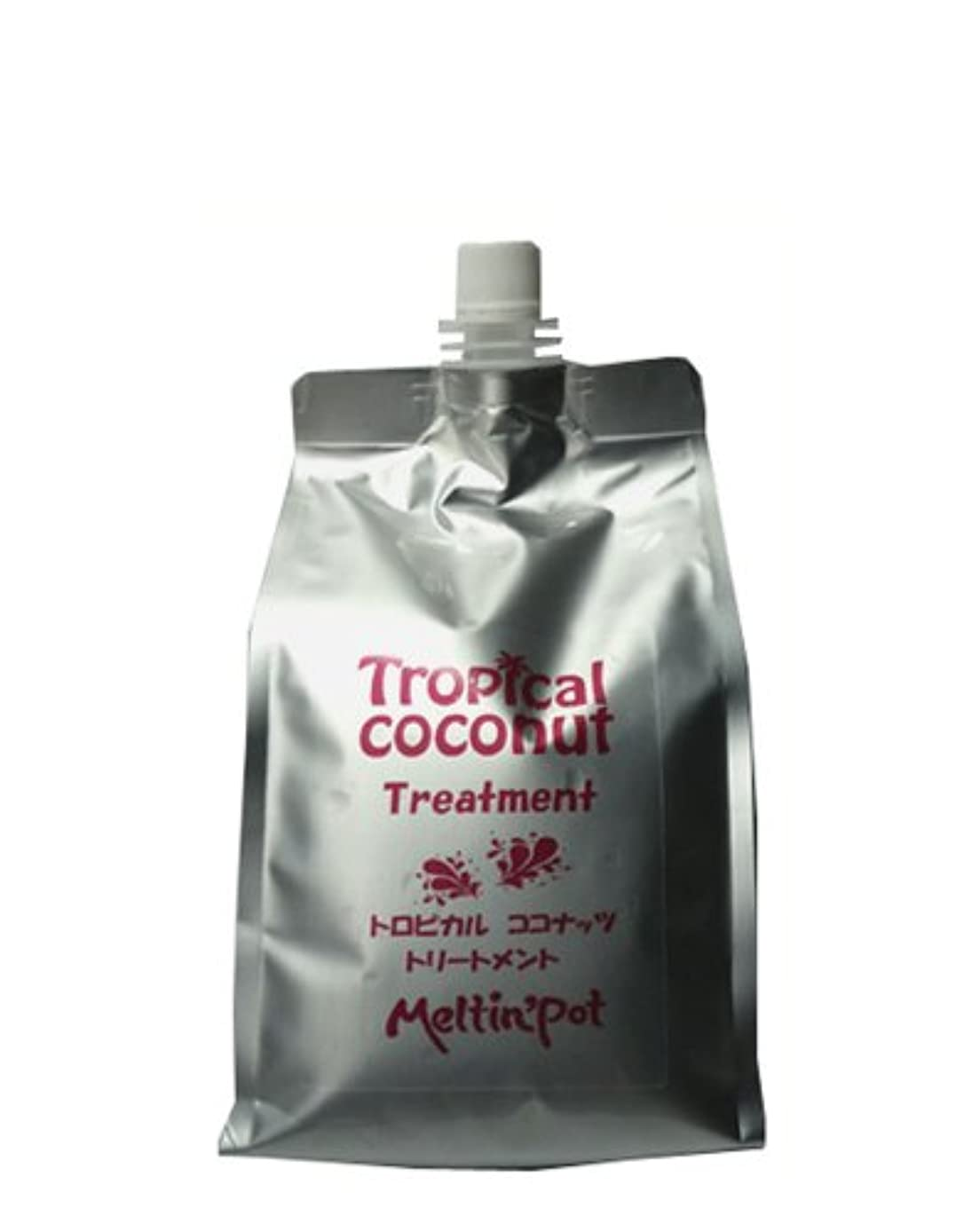 レイプおとうさん粘性のトロピカルココナッツ トリートメント 詰め替え 1000ml  Tropical coconut treatment