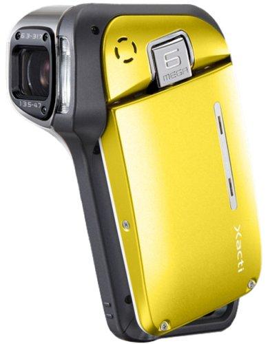 SANYO 防水型デジタルムービーカメラ Xacti (ザクティ)シリーズ (ブライトイエロー) DMX-CA65(Y)