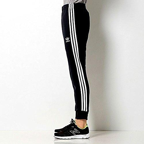 アディダス オリジナルス(adidas originals) SST CUFFED TRACK PANTS ジャージパンツ (S, 05 ブラック)