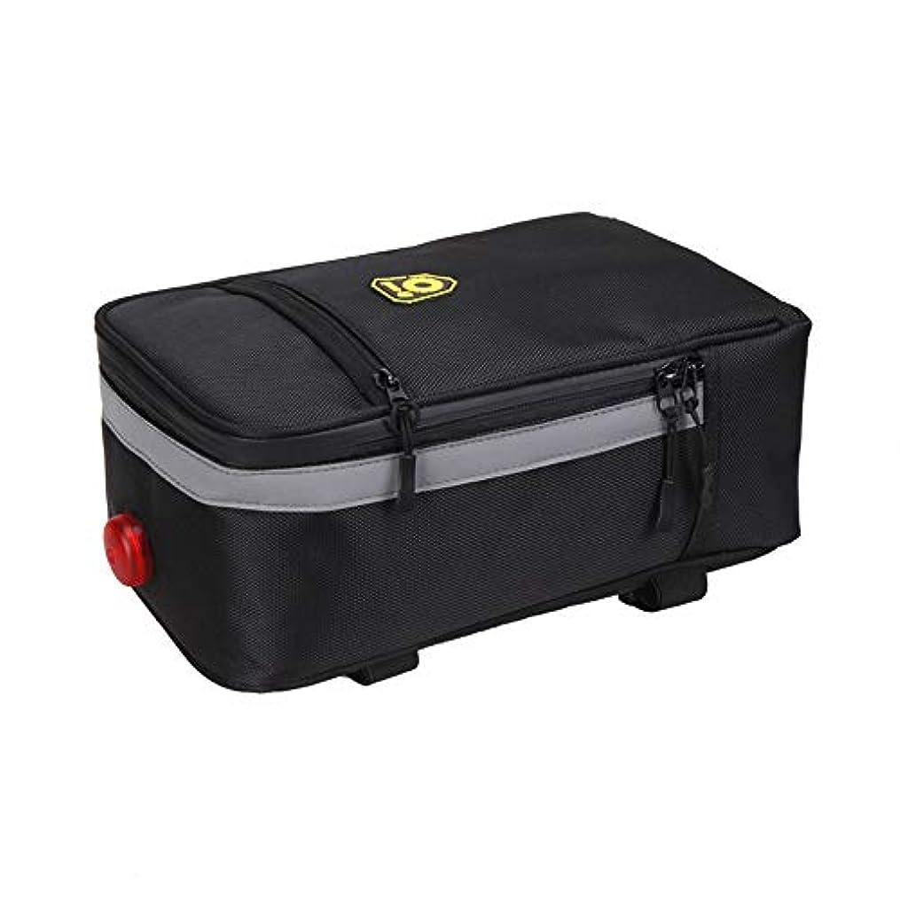 眠り再開理解する自転車専用バッグ、防水折りたたみ電動自転車リアテールバッグリアシートテールバッグライディングバッグ - LXZXZ