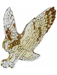 Owl Wildlife小さなメタルラペルピンバッジ。。。3 / 4 x 1インチ。。。新しい