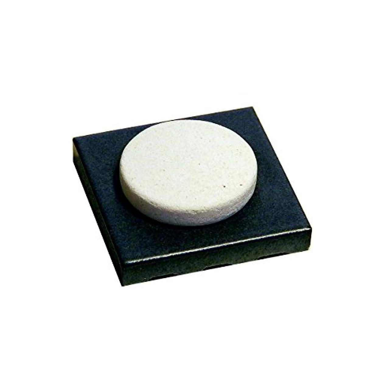 予測ちなみにとんでもない〔立風屋〕珪藻土アロマプレート美濃焼タイルセット ブラック(黒) RPAP-01003-BK