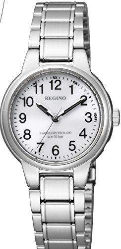 [シチズン]CITIZEN 腕時計 REGUNO レグノ ソーラーテック電波 スタンダード ペアモデル KL9-119-95 レディース