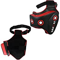 Roar Boxingベリー& MMA腿パッドセットUFCトレーニングタイ式脚プロテクターwith Rib Shield