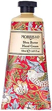 Morris & Co Hand Cream Bar Strawberry Thief RED 50ml Hand cream, 5