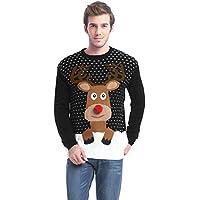 *daisysboutique* Men's Holiday Reindeer Snowman Santa Snowflakes Sweater
