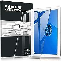 AVIDET ファーウェイ MediaPad M3 Lite 10 wp フィルム/ドコモ タブレット dtab d-01K フィルム ガラスフィルム 9H硬度の液晶保護 0.3mm 超薄型 アサヒガラス製 耐指紋 撥油性 高透過率 2.5Dラウンドエッジ加工