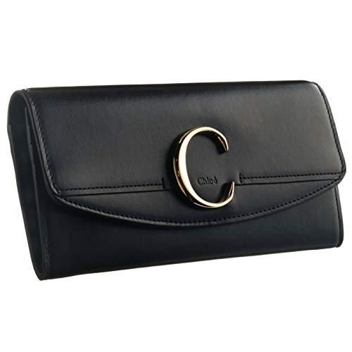 Chloe(クロエ) 財布 クロエC 二つ折り 長財布 二つ折り長財布 9SP055 A37 001 [並行輸入品]