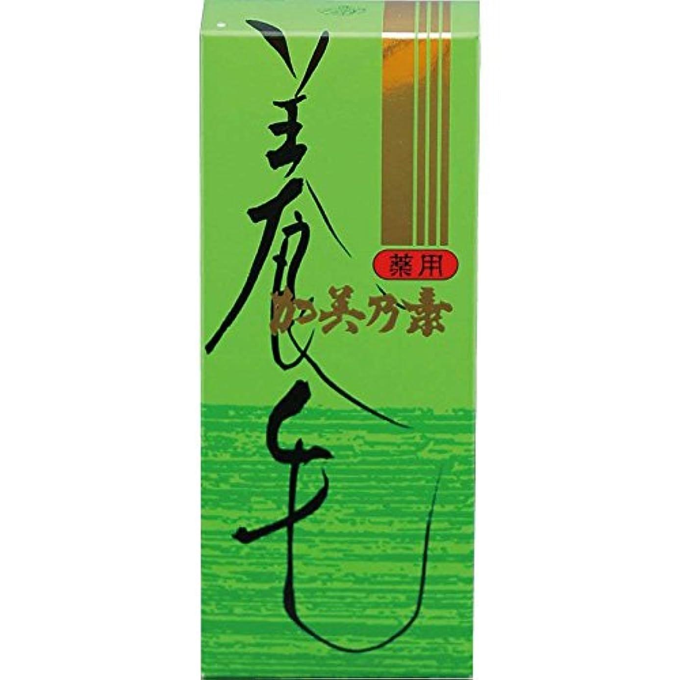 つば典型的な種をまく薬用加美乃素 グリーンフローラルの香り 180mL×3個