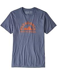 (パタゴニア)patagonia M's Geologers Organic T-Shirt 39147 Dolomite Blue (DLMB) M